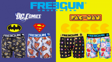 Cobranding Freegun : Retrogaming et Super Héros !